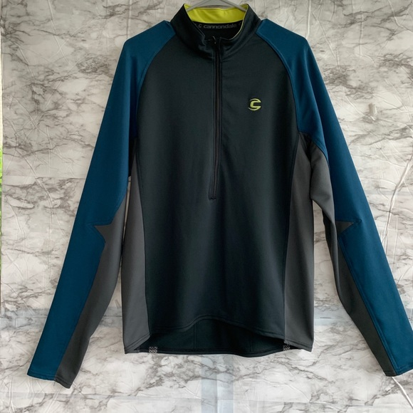Cannondale Other - Cannondale men's half zip cycling jacket.Size X.